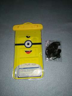Minion Waterproof Cellphone Pouch