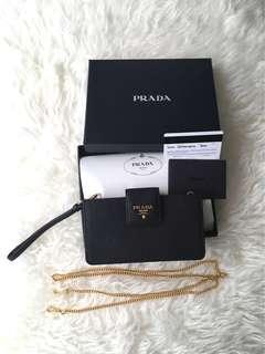 100% Authentic Prada Leather Mini Bag