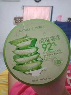 Nature republic aloevera gel 100% original