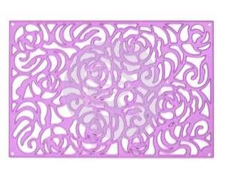Prima metal die - rose wall