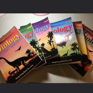 Biology 生物 dse 恐龍書 book 1 - 6