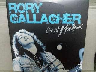 Vinyl Record 2xLP: Rory Gallagher–Live At Montreux - Blue Coloured Vinyl