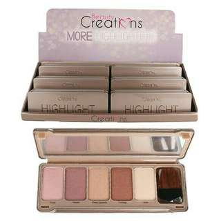 Beauty Creations More Highlight Palette