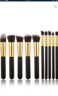 Make Up Brush 10 pcs