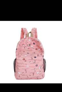 [PO] Women Canvas Backpack