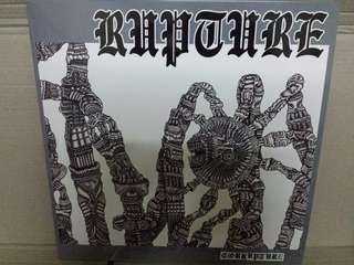 Vinyl Record LP: Rupture ‎– Corrupture - Cult Australian Hardcore/Punk, Thrash Metal Band