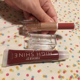 Forever 21 lipstick bundle