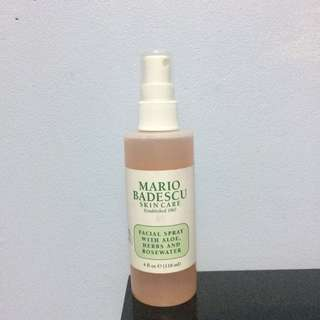 Mario Badescu Skin Care Facial Spray with Aloe, Herbs and Rose Water