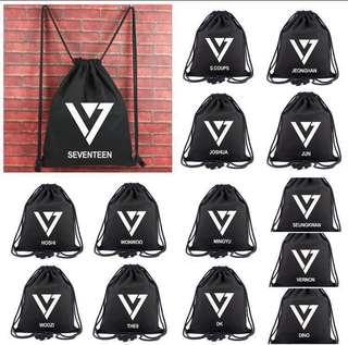 [PO] Seventeen Drawstring Bag