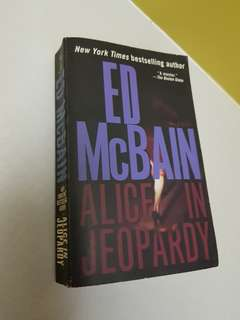 """Alice in Jeopardy"" -Ed McBain"