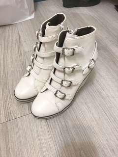 Gracegift 楔型靴