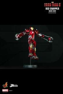 已開 hottoys Hot Toys Iron Man 3 ironman red snapper mark 35 PPS 002