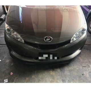 TOYOTA WISH SAMURA LIP