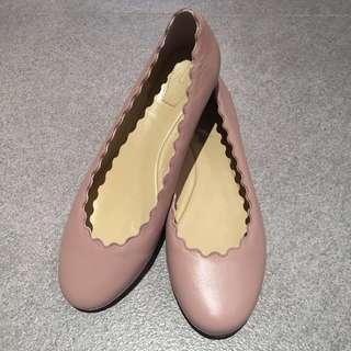 💖Chloe style ballerina flats (size 38)