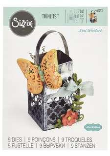 Ellison Sizzix Butterfly Lantern Thinlits Die Set by Lori Whitlock (9 Pack)