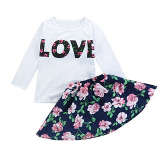 SET KIDS ROSE ~READY STOK~