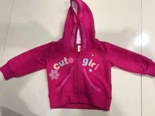 Carter's 9m Girl Jacket - Pink