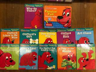 ✨Clifford's Phonic Books for Kids!
