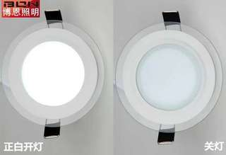 6W 3 Tones Round Downlight