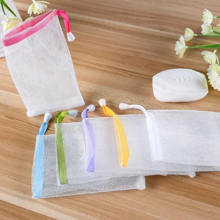 手工皂起泡網袋