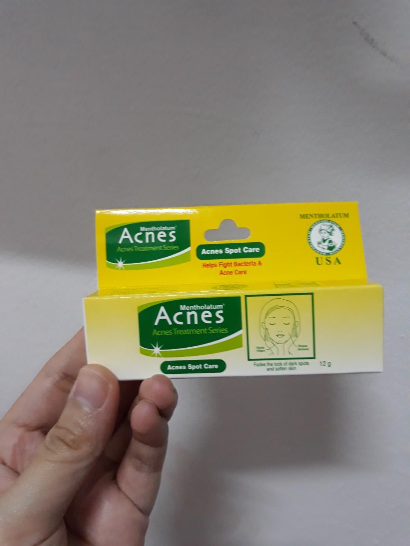 Acnes Spot Care 12g6 Daftar Harga Terkini Dan Terlengkap Toko Online Obat Jerawat Treatment Series Salep Bekas Kesehatan Kecantikan Kulit Sabun Tubuh