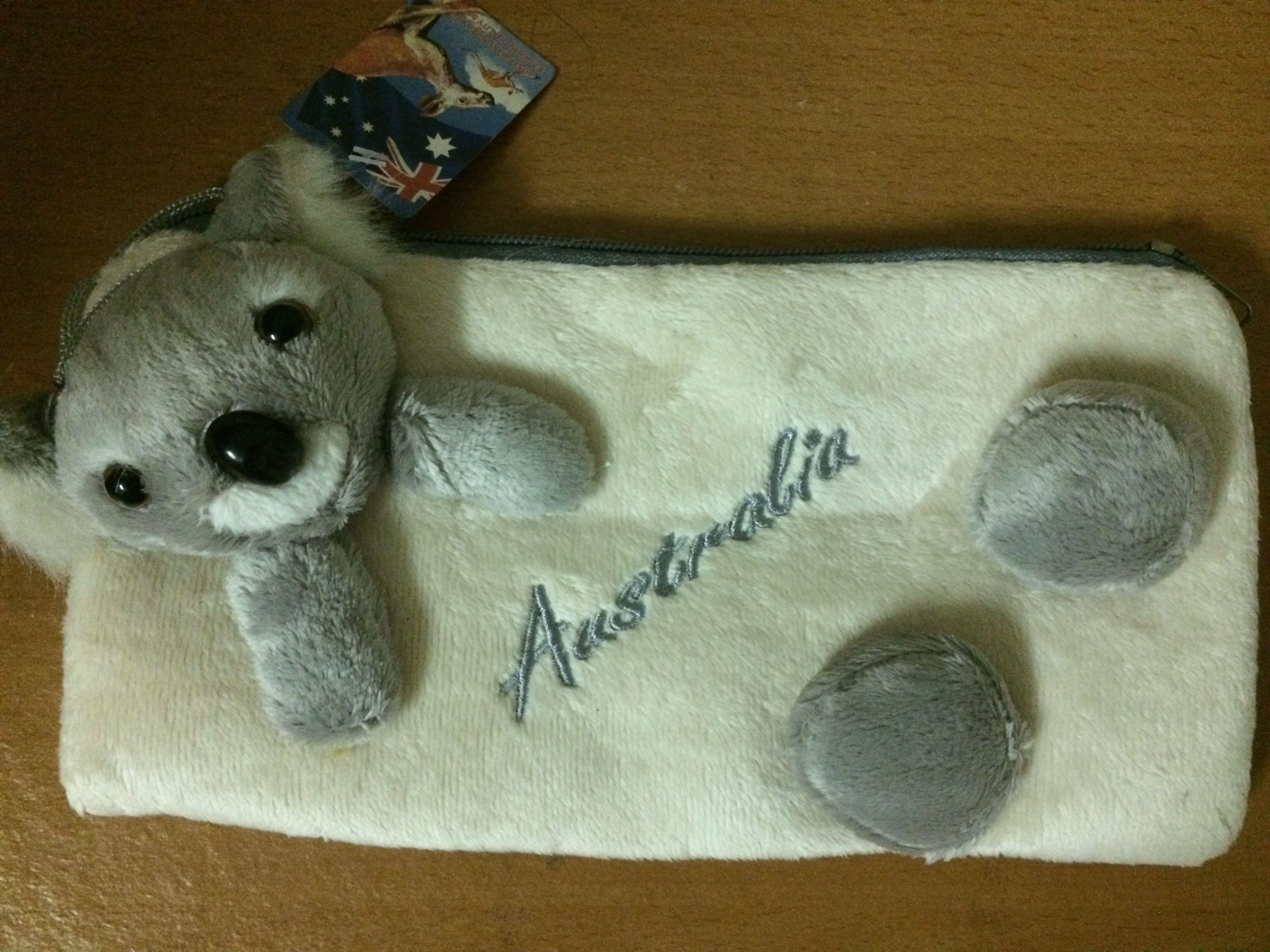 db26cab79138 Australian Koala Velvet Bag