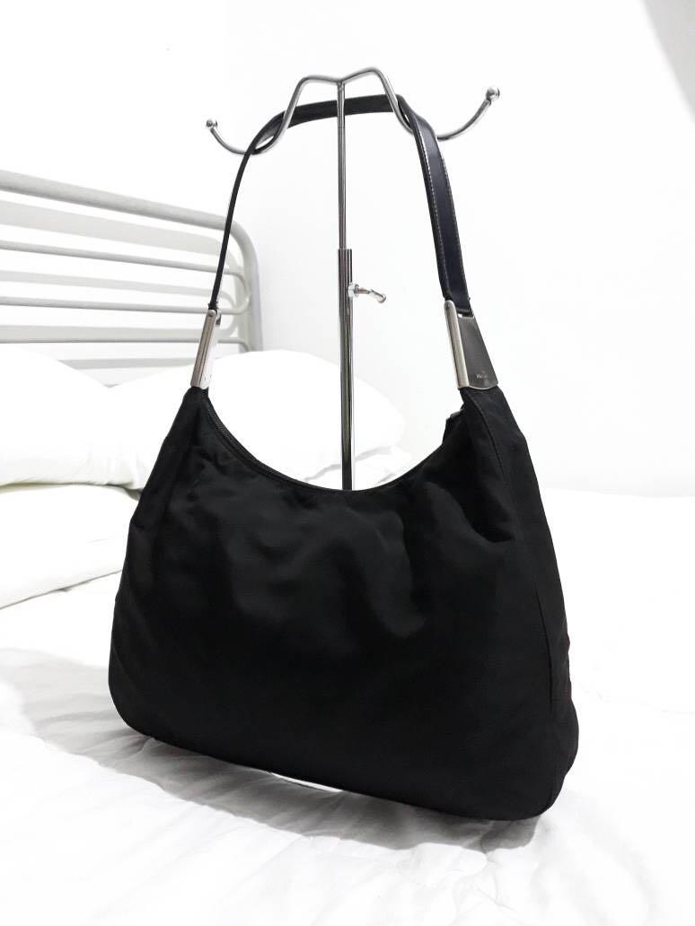 643981d280b8 Authentic PRADA milano tessuto nylon minimal hobo, Women's Fashion ...
