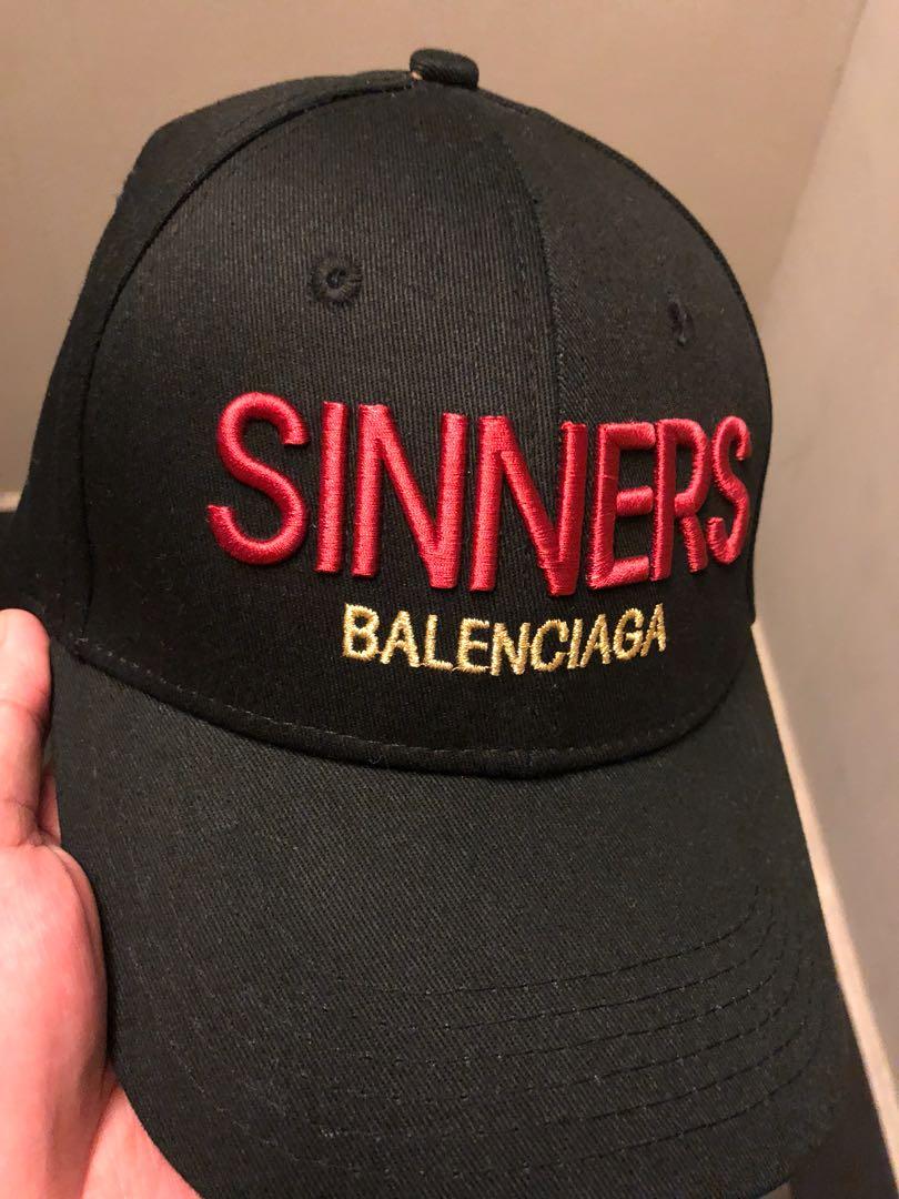 458d78ad70b Balenciaga Sinners Cap