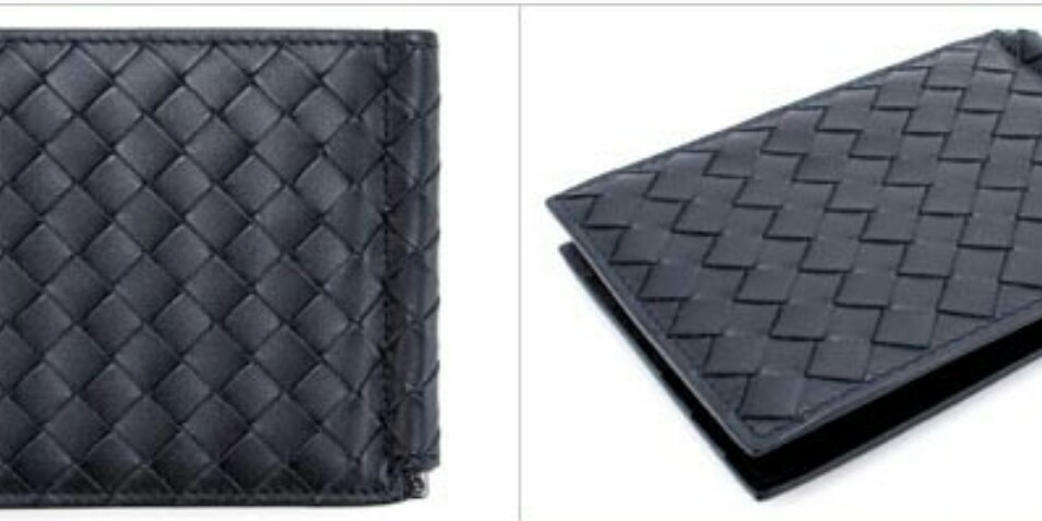 Bottega Veneta Money Clip Wallet