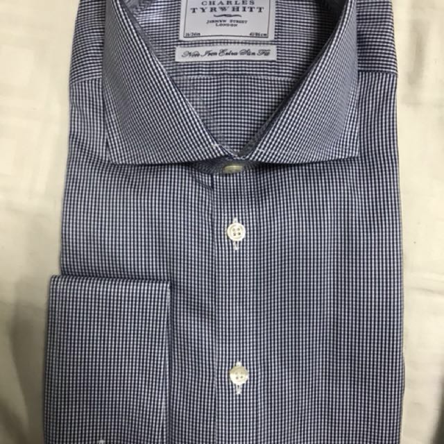 3332cab3b454 Brand New Charles Tyrwhitt 100% Cotton Non Iron Extra Slim Fit Shirt ...