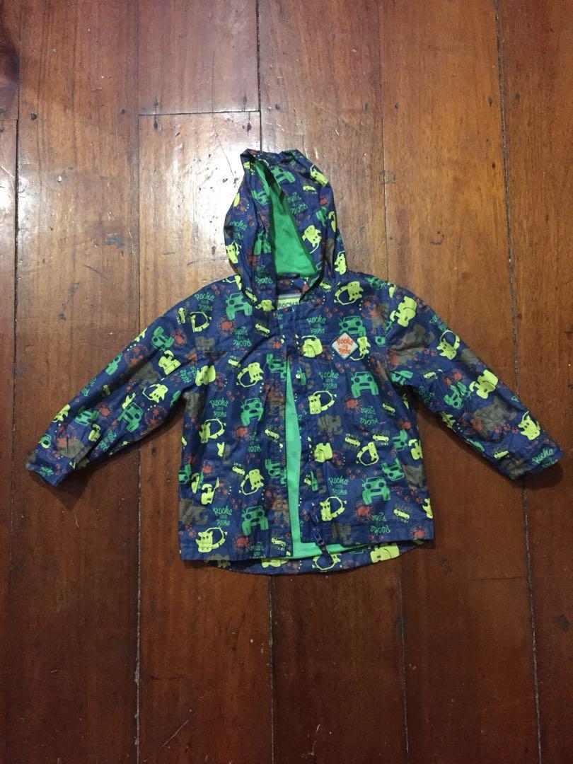 Debenhams Kids Windbreaker Jacket Size 2 3 Years Babies Champion Black Full Zip Hooded Hitam S Photo