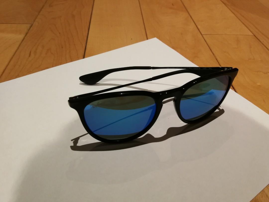 Erika blue flash lens Ray-Ban sunglasses