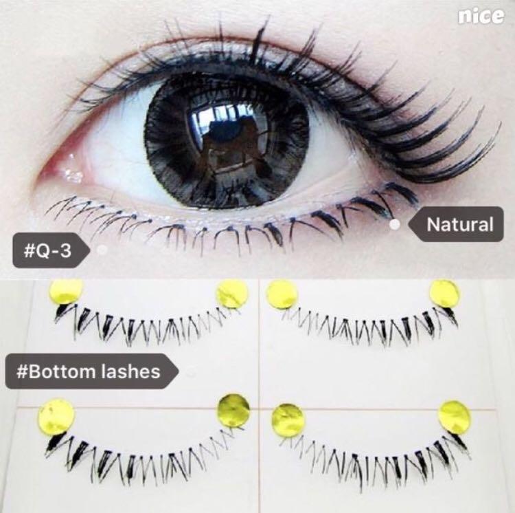 643f4ab91c8 Fake/False Eyelashes Mega Sale — 2 boxes bottom lashes for $6, free  mailing! While stock lasts!, Health & Beauty, Makeup on Carousell