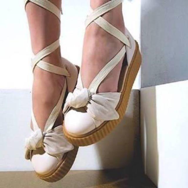 14da221c9de Fenty x puma - bow creeper sandal (oatmeal)