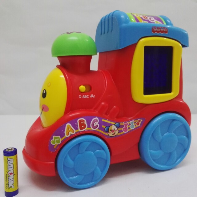 Abc Train Toy