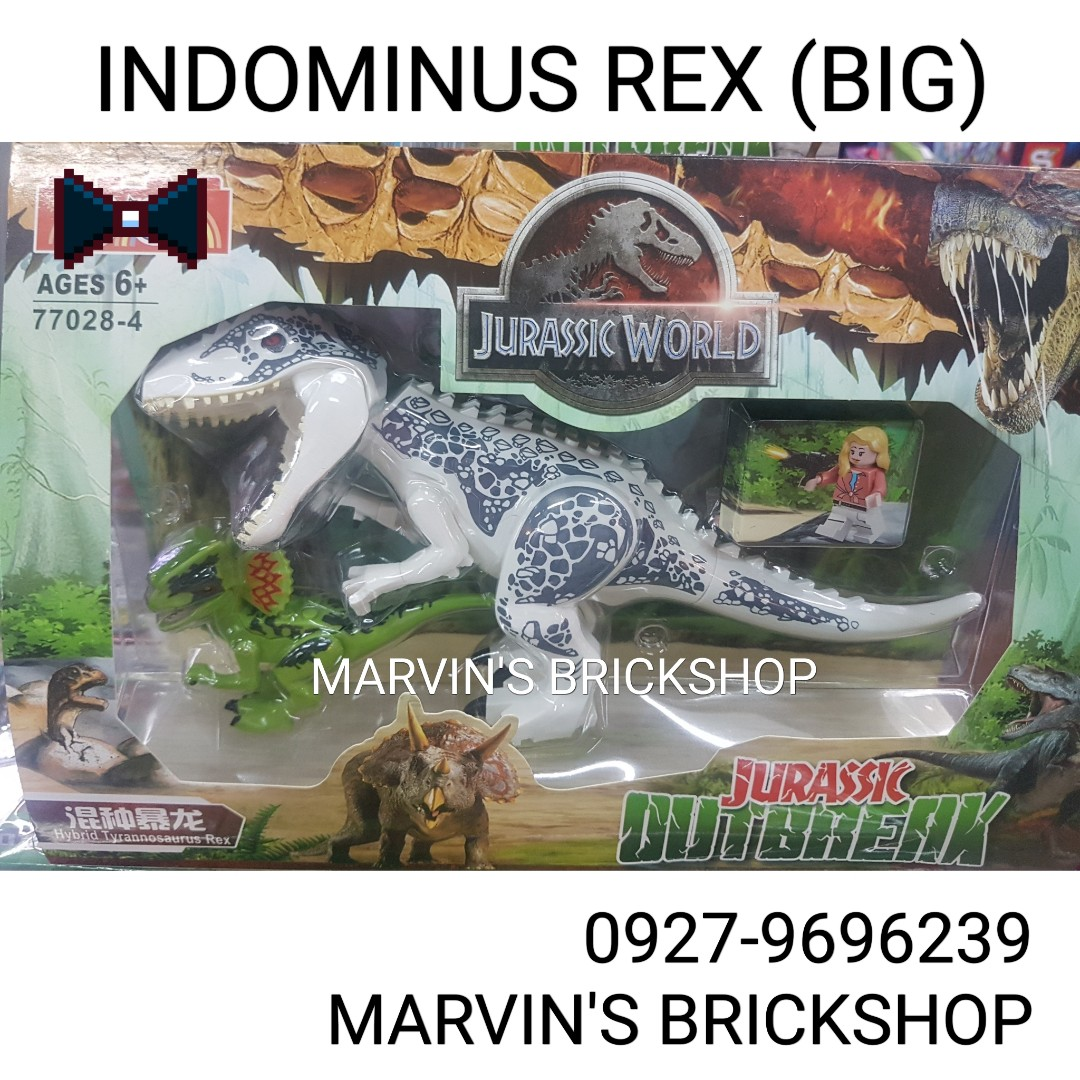 For Sale Jurasic World Indominus Rex (BIG) with FREE Small