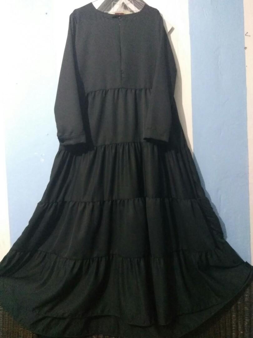 Gamis Rempel Susun New Fesyen Wanita Muslim Fashion Di Carousell