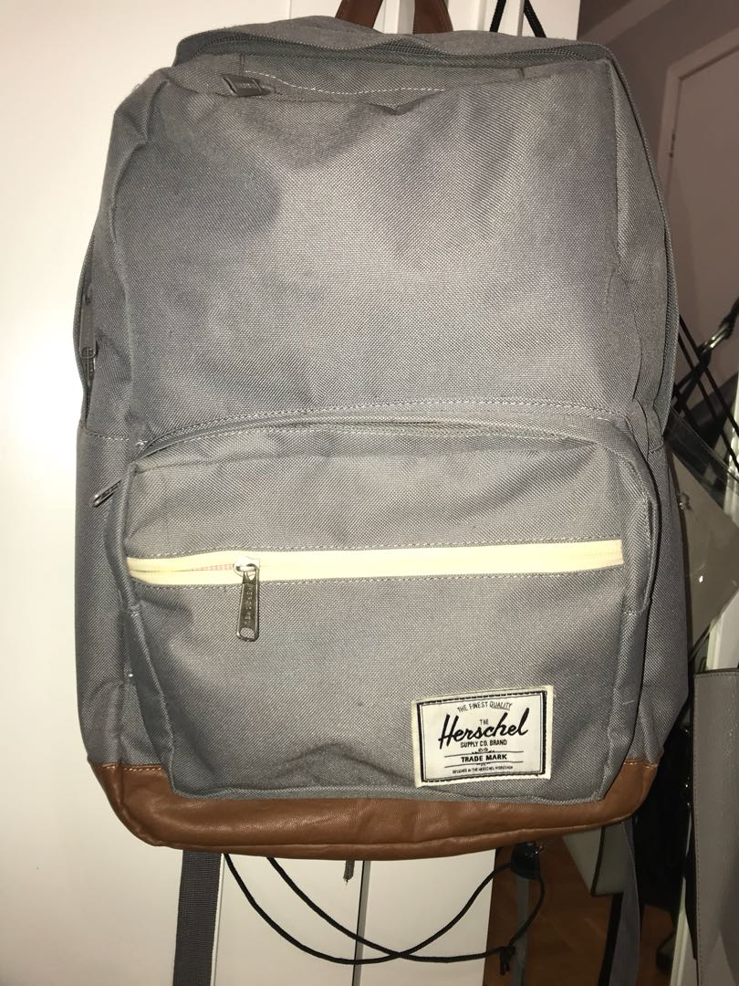 Grey Herschel Bag