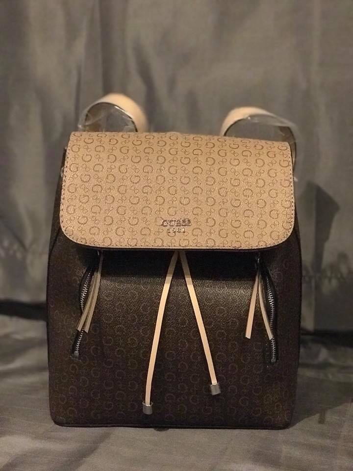 8bf8488b874c Guess Brown Backpack