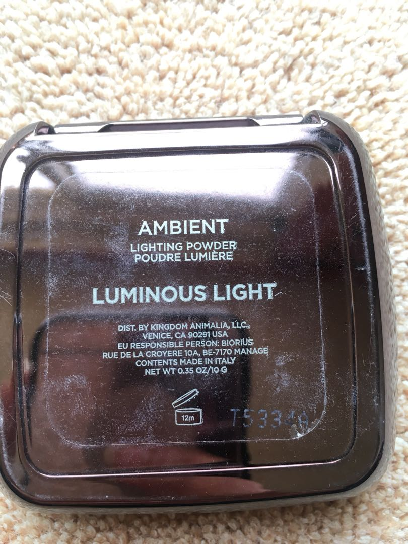 HOURGLASS Highlight Ambience Powder - Luminous Light