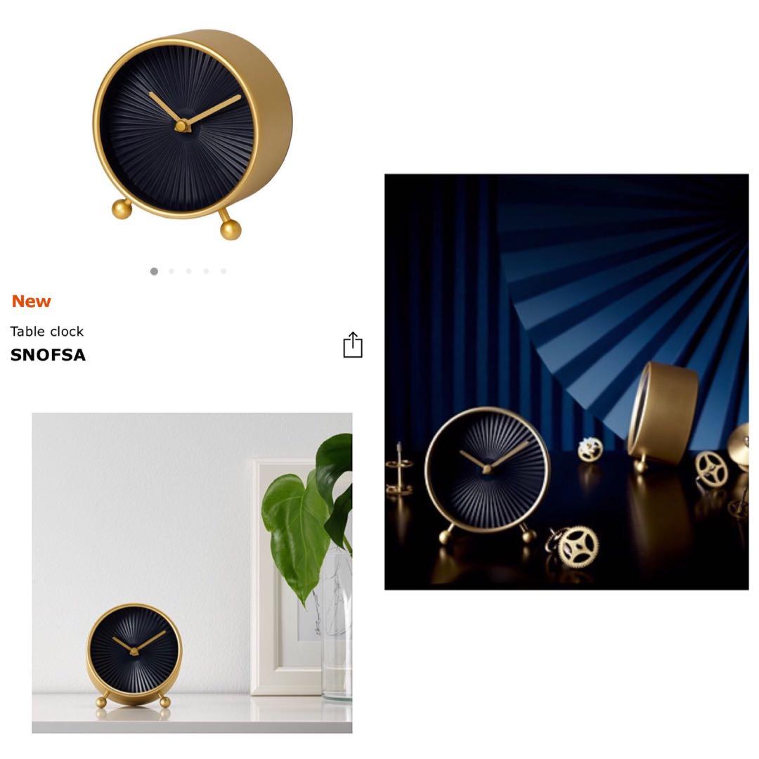 Alarm Clock Compact Table Clock Source IKEA DEKAD HITAM Jam Beker. Source .