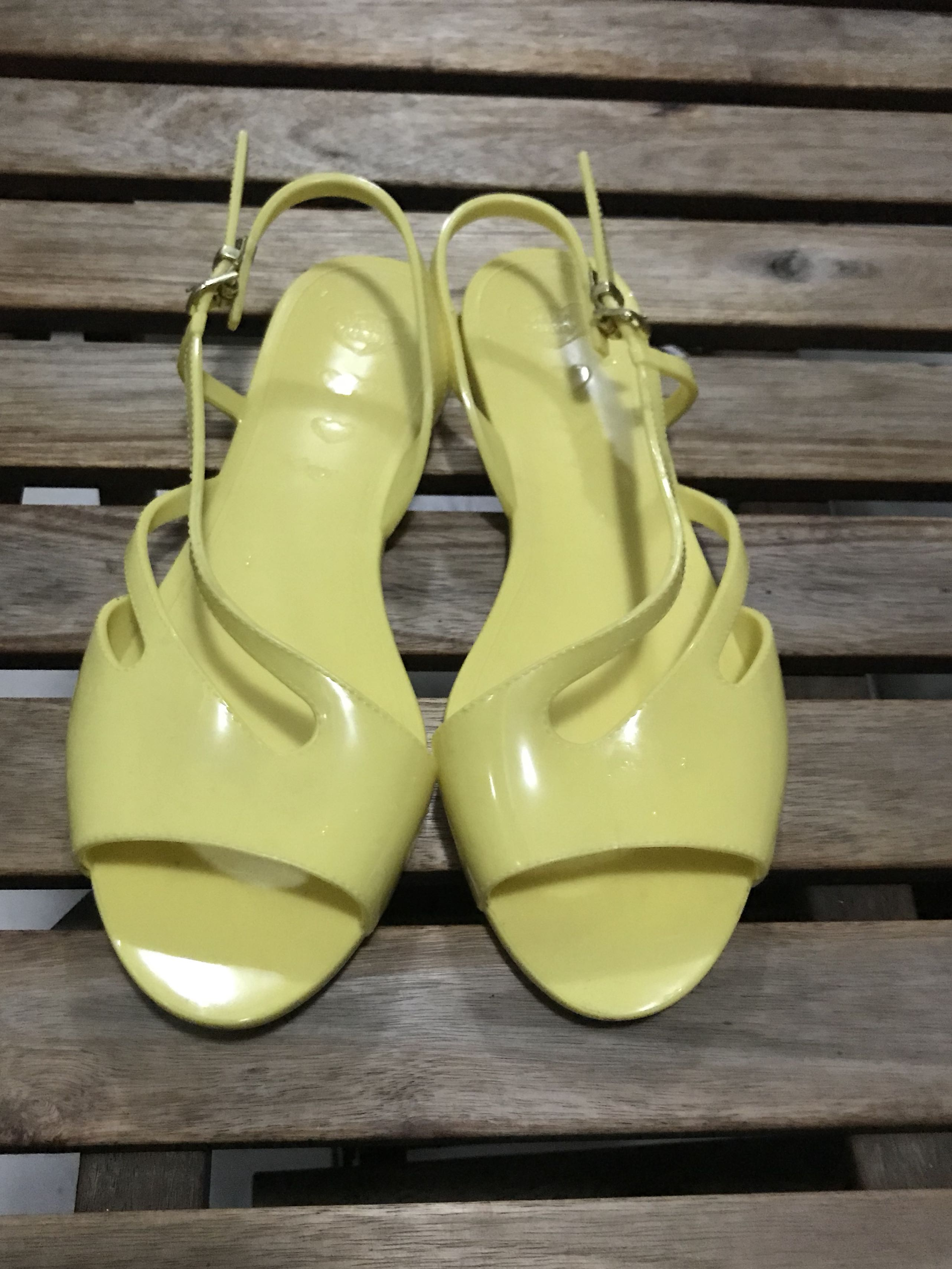 Jelly Bunny's Sandals (Yellow Colour