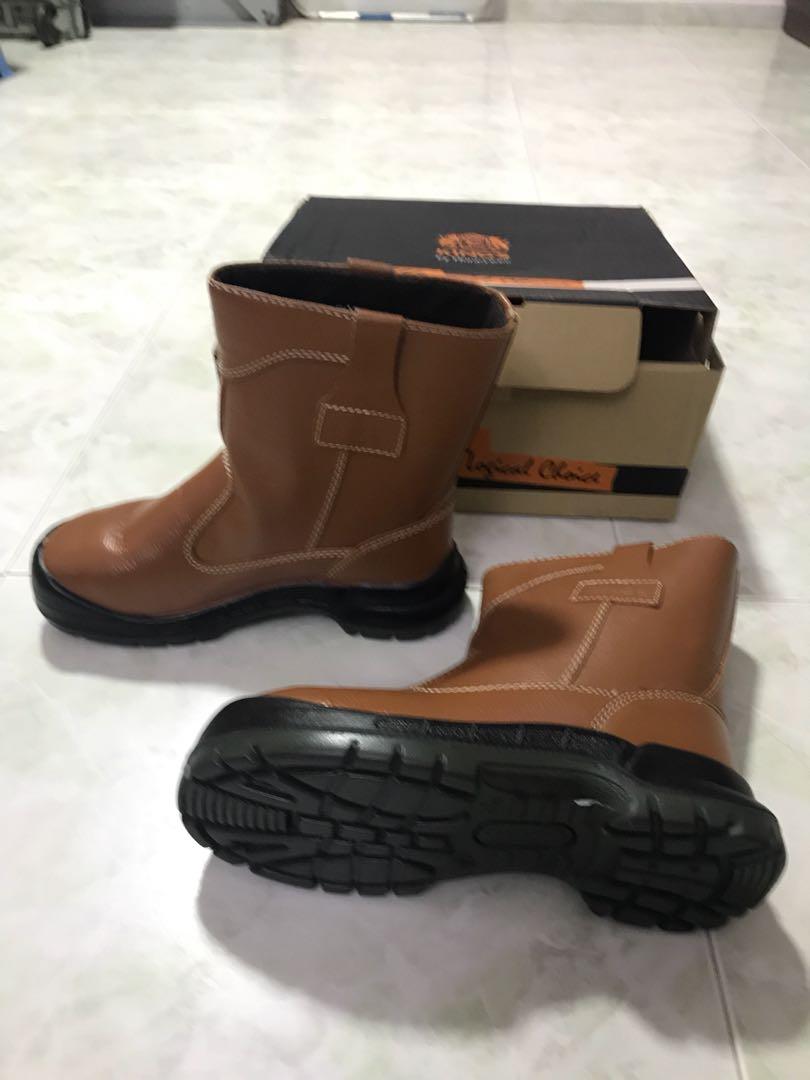 1e7429a737af King S Safety Shoes High Cut Men Fashion Footwear On Carou