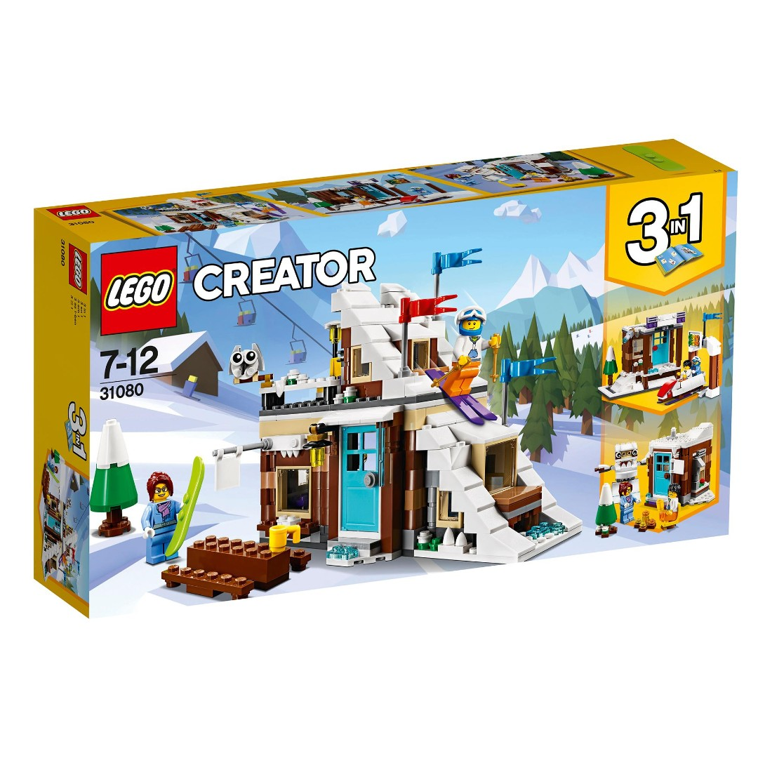 Lego Brick Toy Creator 31080 Winter Vacation Brand New In Box