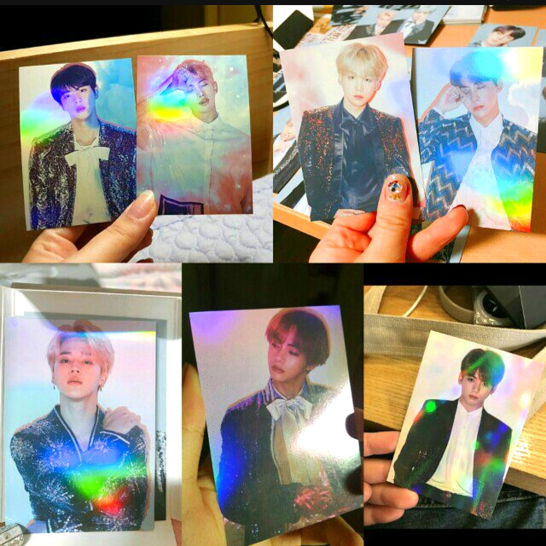 lfwtb rare bts special holographic photocards the wings final tour 1525673354 d5a60083