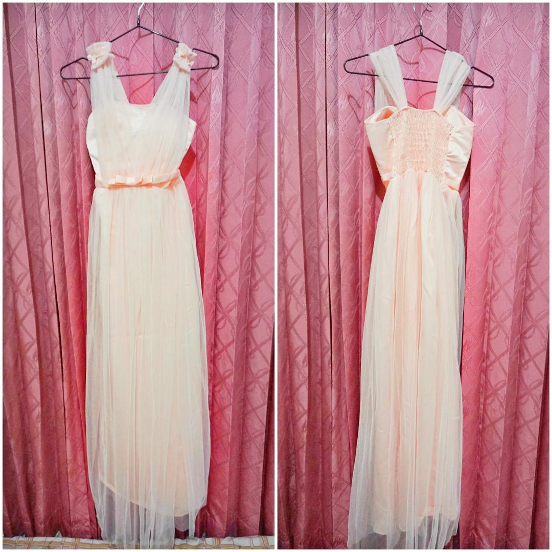 Prom Dress Party Dress Gaun Pesta Gaun Formal Gaun Bridesmaid Gaun