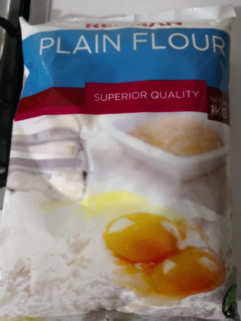 Plain flour & custard powder