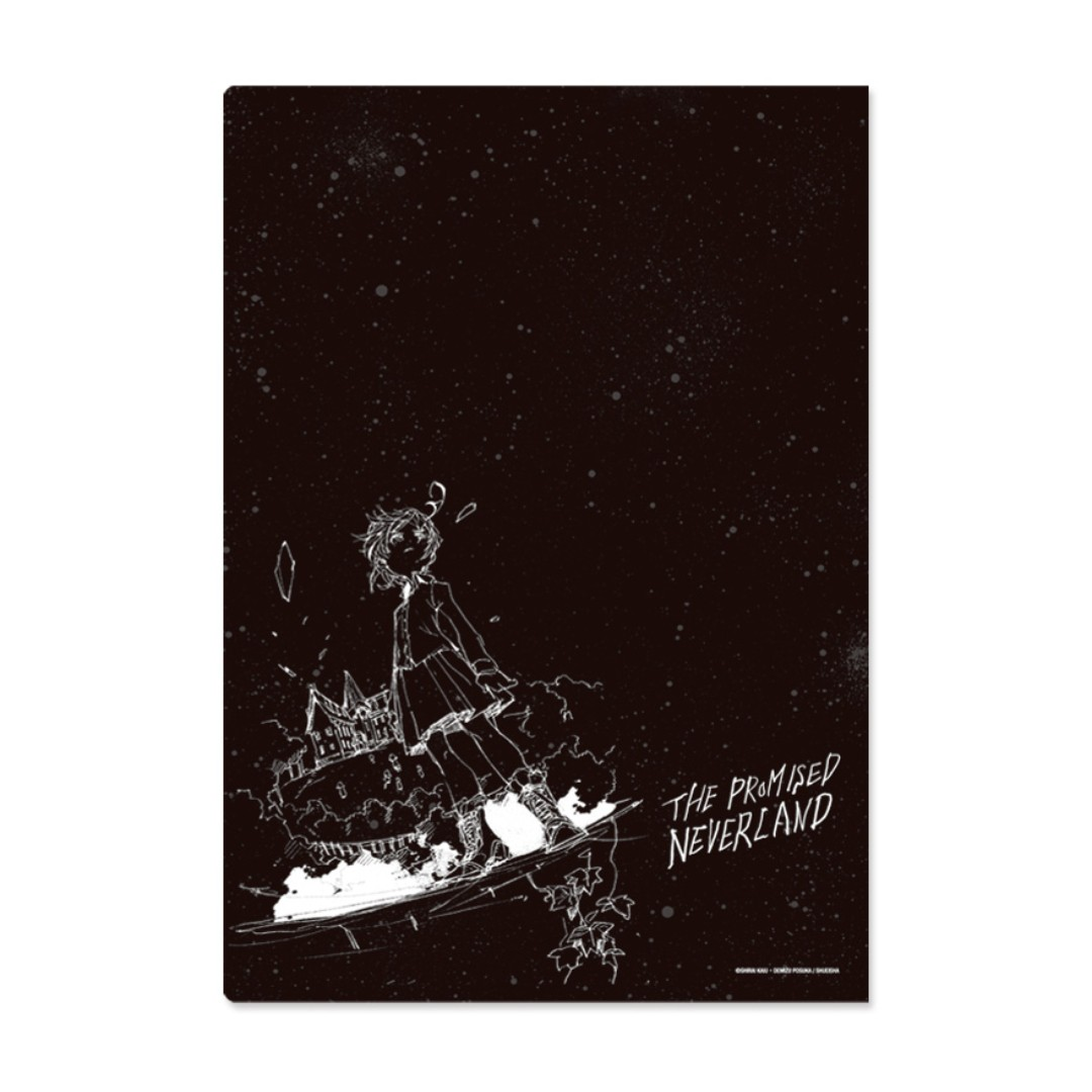 PO] The Promised Neverland Double Pocket Clear File