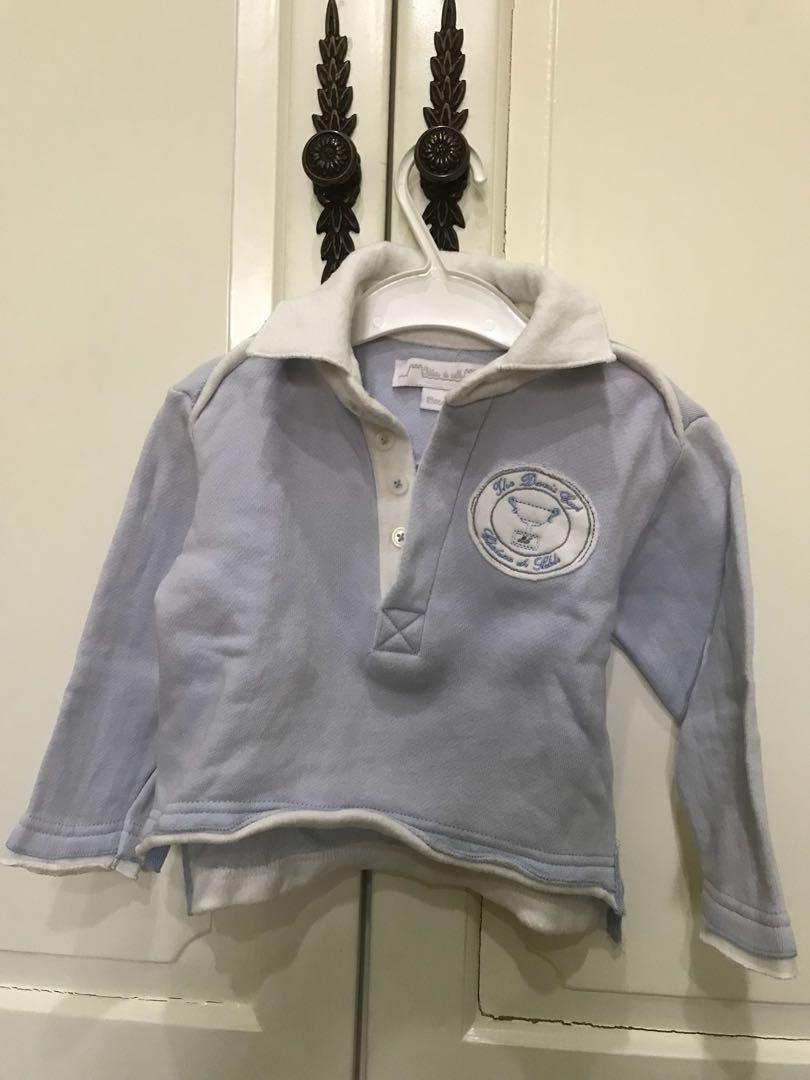 Preloved shirt chateau de sable ( paris ) original for 18 months