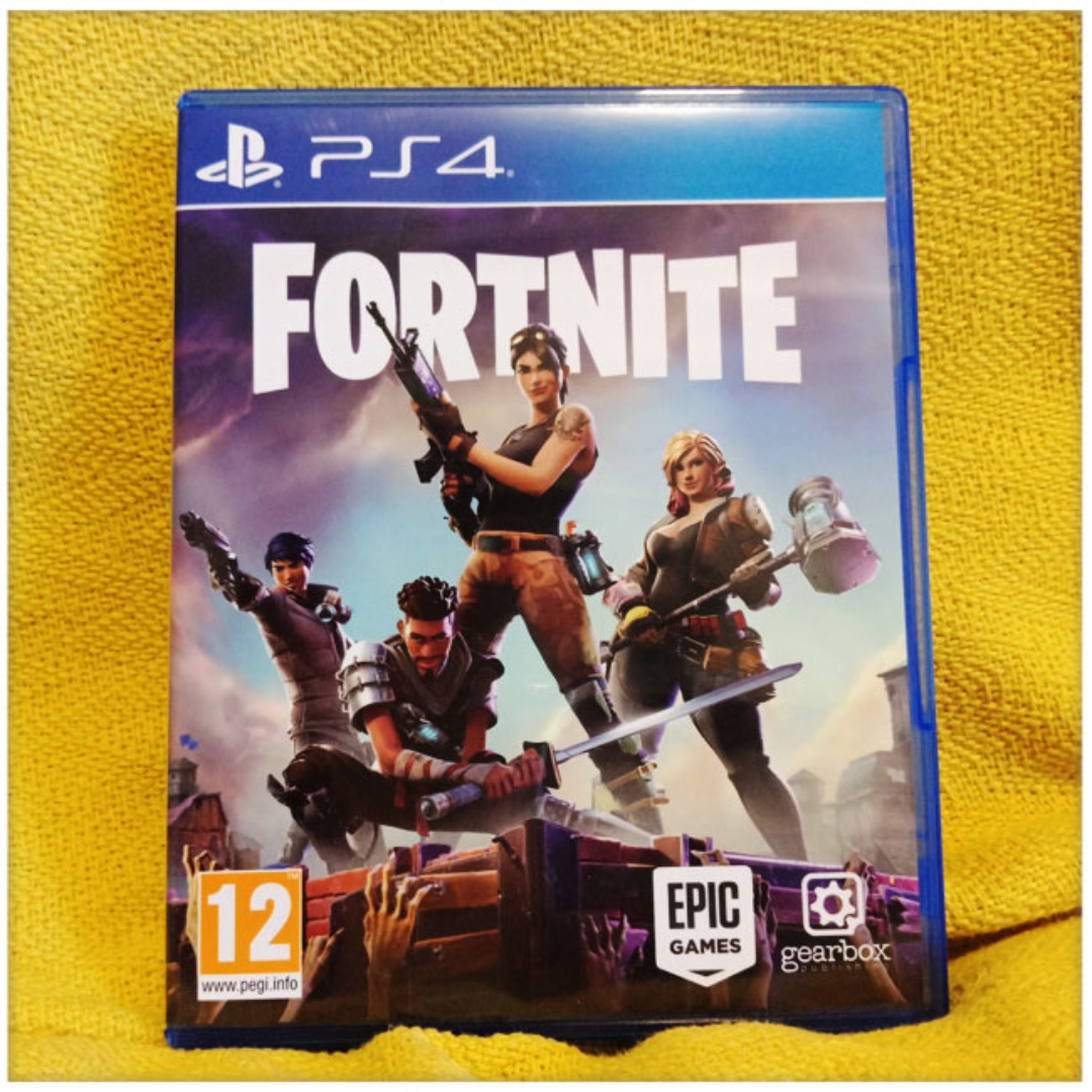 PS4 Fortnite disc, Toys & Games, Video Gaming, Video Games